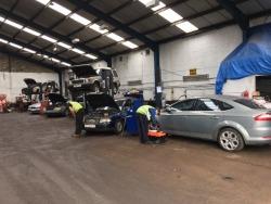 Automobilių ardymas Škotijoje (6)