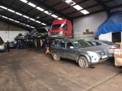 Automobilių ardymas Škotijoje (3)