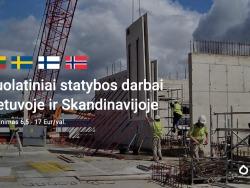 Ilgalaikiai statybos darbai Skandinavijos šalyse (2)