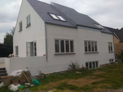 Individualiu namu statyba, stogu dengimas (1)